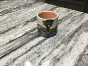 Vintage MEYER POTTERY Hand-Painted Bluebonnets -  Souvenir of TEXAS - NM COND