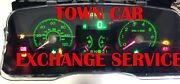 2007 2008 Lincoln Town Car Instrument Cluster Exchange Service 8w13-10849-ab ,aa