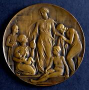 Award In Wwi By Jull Anthone 1914-1919 / Bronze Medal / 65 Mm - 7538 Gr / N145