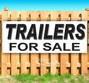 Trailers For Sale Advertising Vinyl Banner Flag Sign Many Sizes Usa