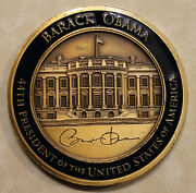 44th President Of The United States Barack H. Obama Official Challenge Coin