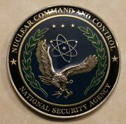 National Security Agency Nsa Nuclear Command And Control Military Challenge Coin