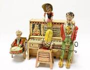 Unique Art Manufacturing Co Inc. Abner Dogpatch Band Tin Toy Lithograph Pioneer