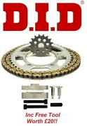 D.i.d Vx Chain And Sprocket Kit Set + Tool Cagiva 600 River 95-99