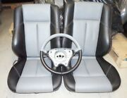 Mercedes Benz C-class W202 Two Toned Back And Front Leather Seats And Steering