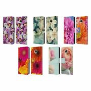Head Case Designs Flowers Leather Book Case And Wallpaper For Motorola Phones