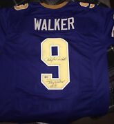 Anthony Michael Hallautographed Johnny Walker Johnny Be Good Jersey Beckett