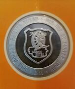 Franklin Mint 1969 Hatveyand039s 1 Proof Gaming Token 11/270 Blank - 1st Edition