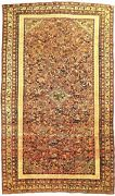Antique Persian Sennh Rug. 3and03910x 6and0396