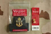 Usn Us Navy All Rates E-7 Cpo Combo Combination Cap Band + Badge And Buttons Set