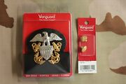 Usn Us Navy All Rank Officer Combo Combination Cap Band + Badge And Buttons Set Sg