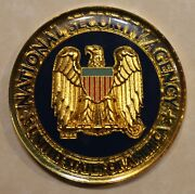 National Security Agency Nsa Plans And Exercise Office Challenge Coin