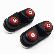 2pcs 33 Black Cam Cleat Suit For Dia 10-14mm Rope For Boat Service Tools Superb