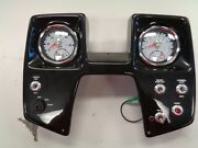 Teleflex Dual Gauge / Ignition And Toggle Switch Panel 14-1/2 X 11-1/2 Boat