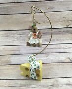 1996 Enesco Mouse Tales Resin Figurine Angels We Have Heard On High 178780