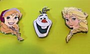 Disney Pin Studio Store Hollywood Anna Else And Olaf Le 300 Frozen