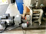 Filli Cavallin 120 Mm Combination Automatic Rolling Mill Jewelry Roller 1 1/2 Hp