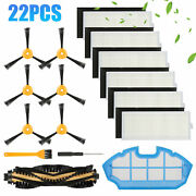 Replacement Filter Brush Parts Kit For Ecovacs Deebot N79 N79s Dn622 Yeedi K600