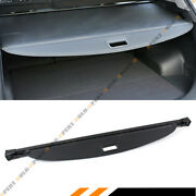 For 2016-18 Hyundai Tucson Retractable Tailgate Cargo Cover Luggage Shade- Black