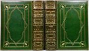 1854 Life Times Oliver Goldsmith Extra Illustrated Color Plates Bayntun Bindings