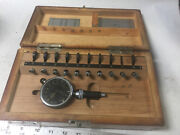 Machinist Tool Lathe Mill Solid Carbide Alina German Bore Test Gage No 2