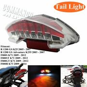 Motorcycles Led Rear Tail Light Brake Stop Lights For Bmw R1200gs F800s Series