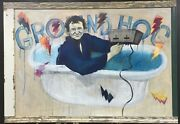 Bill Murray Ground Hog Day Large Framed Painting
