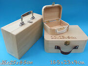 Wooden Suit Case Small Or Large Plus Other Craft Wooden Items To Decorate
