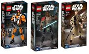 Lego® Lot Of 3 Buildable Figures Star Wars 75113 75115 75116 - Factory Sealed