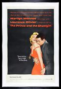 The And The Showgirl ✯ Cinemasterpieces 1957 Marilyn Monroe Movie Poster