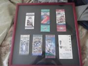 1994-1999 Brickyard 400 And Sears Point Raceway 1998 Garage Pass - Framed And Matted
