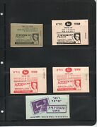 Israel Nice Collection Of Early Booklets High Catalog Value Mnh