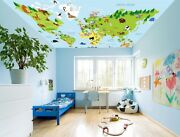 3d Anime World Map 41 Ceiling Wall Paper Print Wall Indoor Wall Murals Ca Jenny