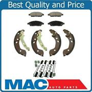 New Ceramic Pads Organic Brake Shoes Springs For Nissan Versa 12-15 And Note 15-17