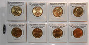 Build Your Own Album Presidential Dollars 2014 All 8 Coins