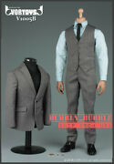 1/6 Gentlemen Business Suit Set B For 12 Hot Toys Male Figure ☆ship From Usa☆