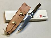 Vintage 1980andrsquo Al Mar Seki Japan Le175/200 Bowie Blade Dagger Knife Sheath Case