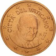 [463081] Vatican City 2 Euro Cent 2010 Ms65-70 Copper Plated Steel