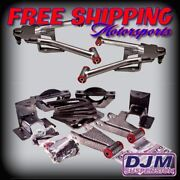 2007 - 2015 Chevy Silverado / Sierra Complete 2/4 Djm With Cast Iron Spindles