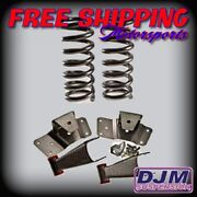 1992 - 1999 C2500 / C3500 2 Front / 4 Rear Complete Lowering Kit By Djm