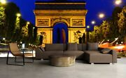 3d Triomphe Night View 554 Wall Paper Wall Print Decal Deco Indoor Wall Mural Ca