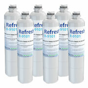 Refresh Replacement Water Filter - Fits Samsung Rs267tdrs Refrigerators 6 Pack