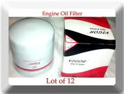 Lot Of 12 Engine Oil Filter So49/l20049 Fits Buick, Chevrolet Gmc Cars Trucks
