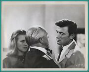 Honor Blackman And Laurence Harvey In Life At The Top - Original Photo - 1965