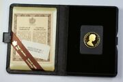 1979 Canada 100 1/2 Oz Gold Proof Coin As Issued