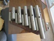 Antique Patriotic / Military Cavalry J.c. Deagan Brass Chimes Wall Or Table