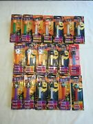 19 Halloween Pez Candy Dispensers With Feet-glow In The Dark And Others.  3514