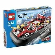 Lego Town City Fire 7944 Fire Hovercraft New Sealed