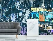 3d Shabby Black Poster 44 Wall Paper Wall Print Decal Wall Deco Indoor Murals