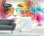 3d Fashion Modern Girl 566 Wall Paper Wall Print Decal Wall Deco Indoor Murals